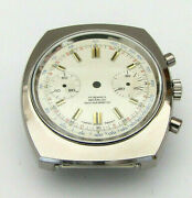 Valjoux 7733 Chronographe Case With Dial 30 Min Counter Nos Swiss Made