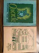 Yearbooks Manchester New Hampshire Central High School Oracle Aglaia 1946, 1947