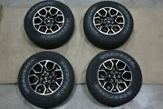 Oem Factory Take Off 15-21 Ford F150 Wheels Rim Tire Package 18x8.5+44 Set
