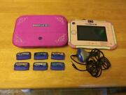 Vtech Innotab 3s Tablet 1588 With 6 Games And Casestyluscharger Tested