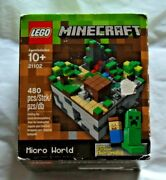 Brand New / Sealed Lego Minecraft Micro World - The Forest - 21102