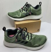 Adidas Edge Bounce Base Green Pink Black Bb7561 Grn Women Size 10 Great Cond