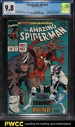 1991 Marvel Comics Amazing Spider-man 344 1st Appearance Of Carnage Cgc 9.8