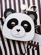 Henri Bendel New York Panda Coin Purse Gossip Girl With Tag And Storage Bag F/s
