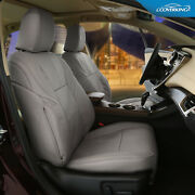 Genuine Leather Slip-on Tailored Seat Covers For Infiniti Qx80 - Made To Order