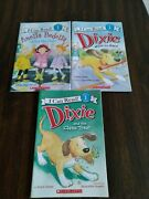 Lot 3 I Can Read Dixie And Mittens Level Pre-1 And 1 Readers Picture Books