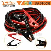 Booster Cable Emergency Car Truck 20 Ft 4 Gauge Heavy Duty Booster Jumper Cables