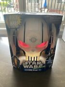 New In Sealed Box Star Wars General Grievous Electronic Helmet Hasbro Collectors