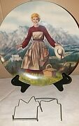 The Sound Of Music Edwin Knowles Sound Of Music Plates 1986 Plate 1 Preowned