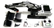 Full Metal 112 Hydraulic Excavator With 6 Ch Radio Control + 5 Attachment Part