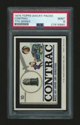 1974 Topps Wacky Packages Contrac Psa 9 7th Series