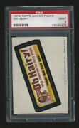 1974 Topps Wacky Packages Oh Hairy Psa 9 7th Series
