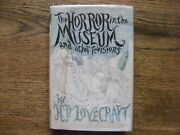 H P Lovecraft The Horror In The Museum Other Revisions, Arkham, 1st/2nd