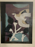 Georges Braque 1882 - 1963 French Artist - Lithograph Andldquodenners Messagesandrdquo 1957