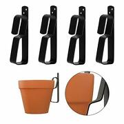Metal Plant Hooks For Hanging 4-9inch Terracotta Pots Plant Hangers Outdoor F...