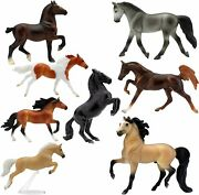 Breyer Horses Stablemates Deluxe Horse Collection | 8 Set | Toy...