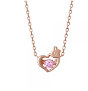 Bts Bt21cooky Heart Necklace Pendant Silver 925 Jewelry Japan Limited