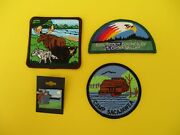 New Girl Scout Fun Patches And Pin Minnesota, Camp Sacajawea, St. Croix Valley