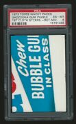 1973 Topps Wacky Packages Cloth Puzzle Bottom Middle Psa 6