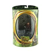 Lord Of The Rings Gimli With Battle Axe Swinging Toybiz Action Figure
