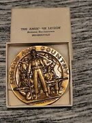 The American Legion For God And Country Semper Fidelis Medal Vintage