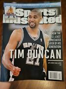 Sports Illustrated, May 21, 2012, Tim Duncan Variant.