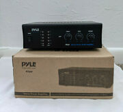 Pyle Home Pca4 240w Stereo Sound Speaker Amplifier Receiver Home Audio System
