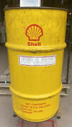 Vintage Shell 16 Gal. Grease Drum - Mancave Trash Can - Gas And Oil
