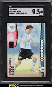 2006 Panini World Cup Germany Lionel Messi 47 Sgc 9.5 Mint+