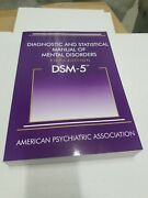 Dsm-5- Diagnostic And Statistical Manual Of Mental Disorders 5th Ed. By Apa New