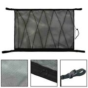Universal Car Storage Roof Ceiling Cargo Net Mesh Bag Pouch Pocket For Suv Van