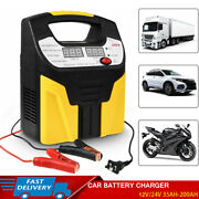 Auto Car Battery Charger Smart Pulse Silent Repair Booster Starter 12v/24v 360w