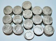155 Usa Kennedy Silver Clad Half Dollars Some Unc Inc Bicentenary All 1971-1980s