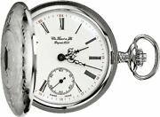 [tissot] Pocket Watch Sabonetto Mechanical Hand-wound With White Dial Chain T836