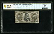 Fr 1294 50c Fractional Currency Without Surcharges Pcgs55 About Unc