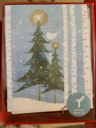 Papyrus Holiday Christmas Cards Boxed Trees 20-count New Nib