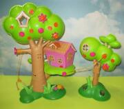 Lalaloopsy Sew Sweet Treehouse Playset For Mini Dolls -structure Only Tree House