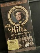 Legends Of Country Music Bob Wills And His Texas Playboys 4cd Set New Unopened