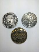 3 Phish Coins - Limited Editions - 1. Maze Bowie 2. Coventry 3. Hampton Coliseum