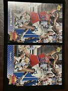 📈2 Card Lot📈 1992-93 Upperdeck Shaquille Oneal Nba Top Prospects Rookie Lakers