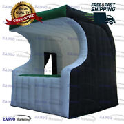 10x10ft Inflatable Bar Drink / Food Concession Stand Booth With Air Blower
