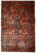Handmade Antique Oriental Rug 3.2and039 X 5.3and039 97cm X 161cm 1920s - 1b674