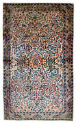 Handmade Antique Oriental Rug 3.1and039 X 5.2and039 94cm X 158cm 1920s - 1b673