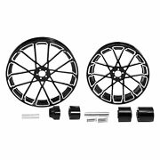 21 Front 18and039and039 Rear Wheel Rim And Hub Fit For Harley Touring Electra Glide 2008-up