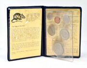 1984 Republic Of Singapore Uncirculated Coin Set Year Of Rat Presentation Pack