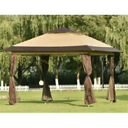 Pop-up Gazebo Tent Instant With Mosquito Netting Outdoor Gazebo Canopy Shelter