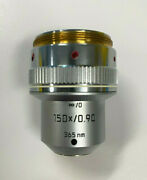 [90-day Warranty] Leica 150x / 0.90 Andinfin/0 Microscope Objective Lens 365nm 767005