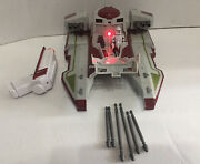 Star Wars Clone Wars Remote Control Republic Fighter Tank Complete Free Shipping