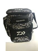 Daiwa D-vec Soft Sided Tactical Large Tackle Box - Dttb70 New