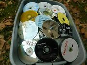 Lot Of 100 Music Cds - Countrywestern Honky Tonk - Discs Only - Free Shipping